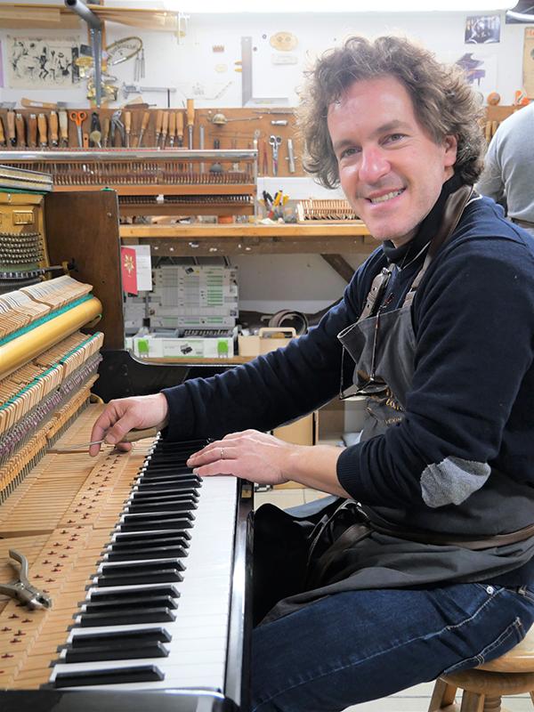pianos artisan Nicolas Dumas