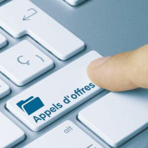 touche clavier appel d'offres