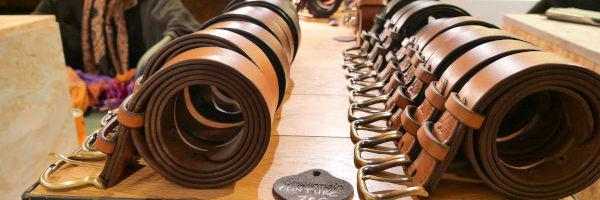 ceintures de cuir