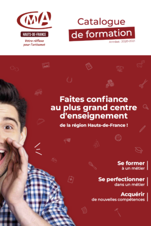 couverture du catalogue de formation CMA