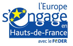 Logo FEDER Hauts-de-France