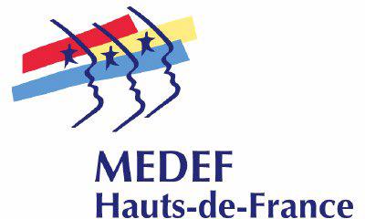 medef Hauts-de-France logo