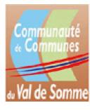 logo communauté de communes du val de somme