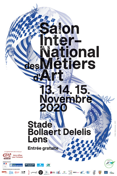 affiche du salon international des métiers d'art 2020