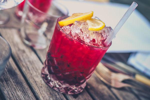 cocktail sur un bar