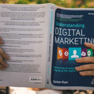 couverture de livre sur le marketing digital
