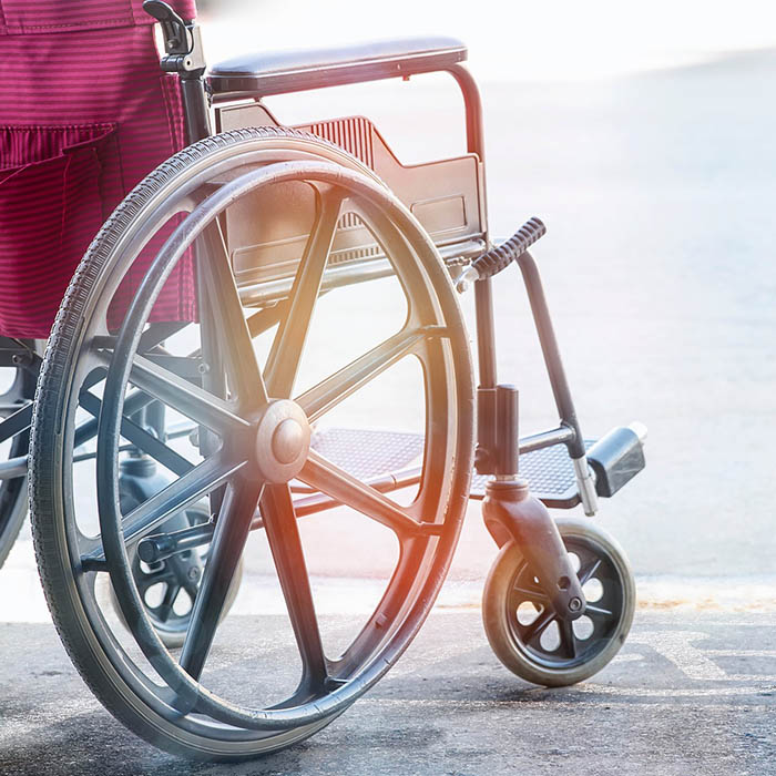 fauteuil roulant accessibilité