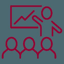 pictogramme tableau et professeur