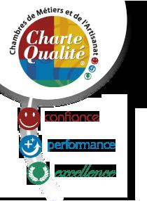 logo charte qualité artisan