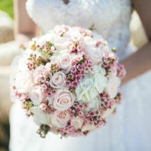 bouquet de fleurs de mariée