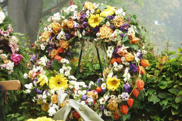 couronne mortuaire