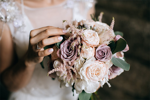 Les bouquets tendance pour un mariage