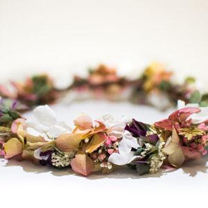 coiffe florale