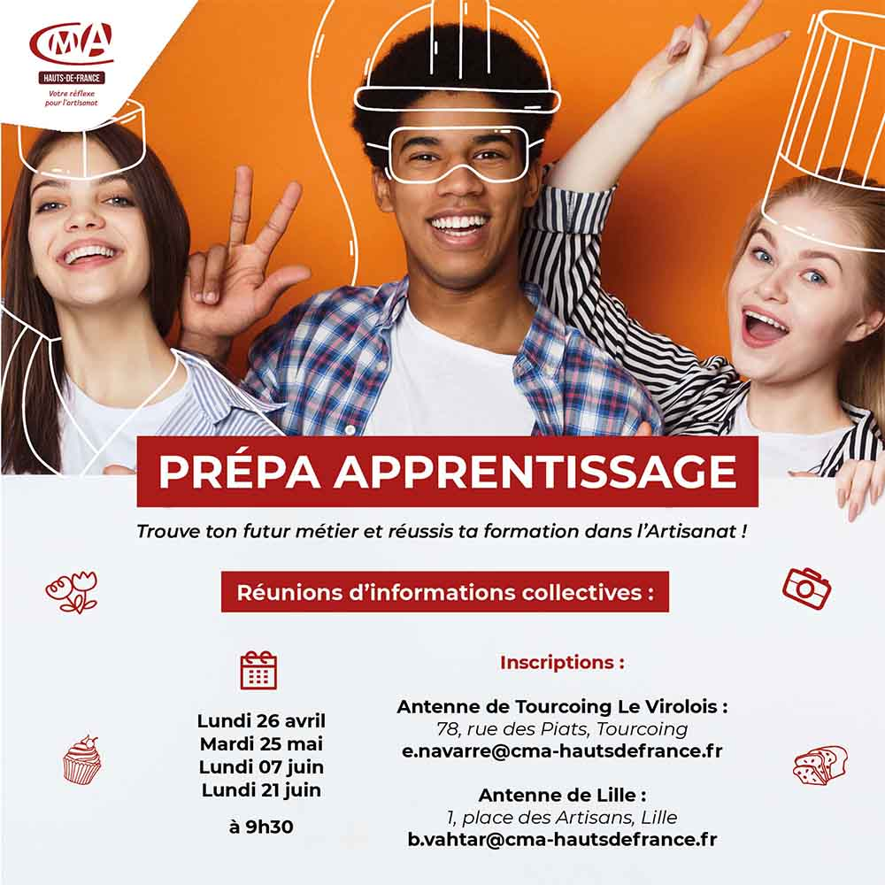 prepa apprentissage CMA Hauts-de-France