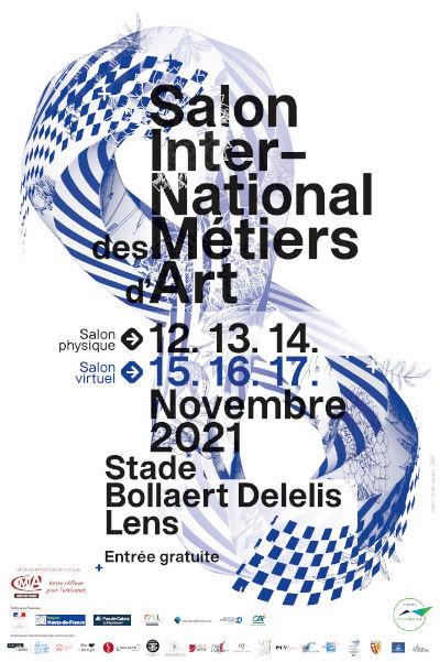 affiche du salon international des métiers d'art 2021