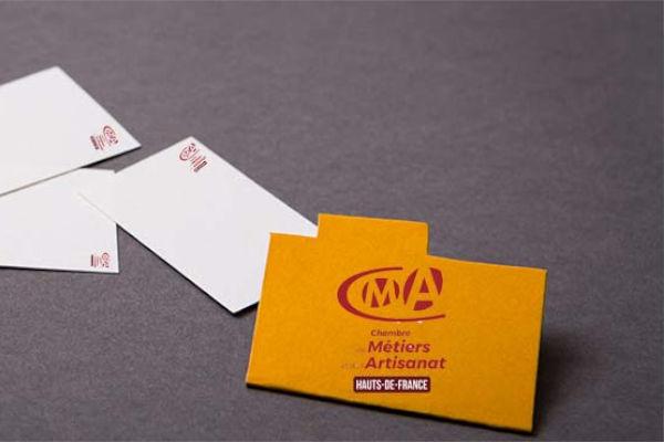 enveloppe de la CMA avec lettres