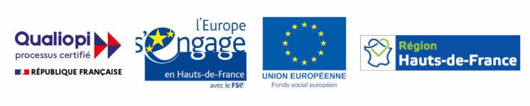logos régions et europe