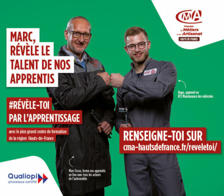 flyer campagne révèle-toi apprentis