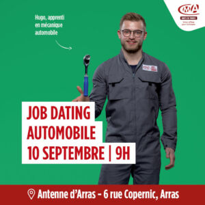 Flyer du job dating automobile
